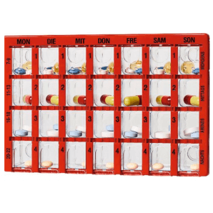 Dosett Maxi Dosing Box Allemand (1 pc)