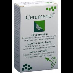 Gouttes auriculaires Cerumenol (10ml)
