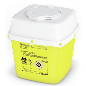 Medibox Kanülensammler 4.7L (1 Stk)