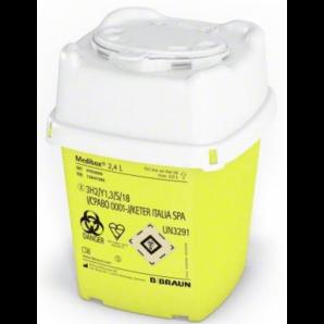 Collecteur de canules Medibox 2.4L (1 pc)