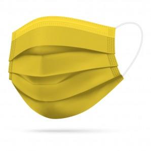TIMASK Einweg-Mundschutz Gelb (20 Stk)