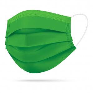 TIMASK Einweg-Mundschutz Grün (20 Stk)
