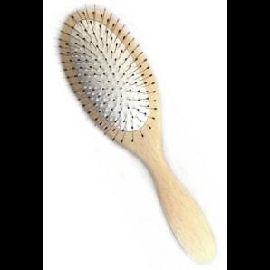 HERBA Spazzola di legno di faggio con perni di metallo (1 pz)
