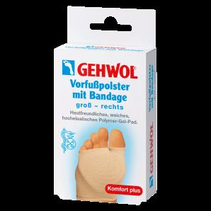 GEHWOL Vorfusspolster mit Bandage gross rechts (1 Stk)