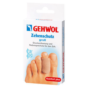 GEHWOL Toe Protection Polymer Gel grande (2 pezzi)