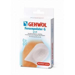 GEHWOL Cuscino per tacchi G con onde in gel grande (1 paio)