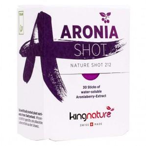 kingnature Aronia Shot wasserlöslich Extrakt 1g (30 Stk)