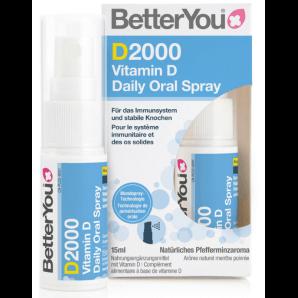 BetterYou D2000 Vitamin D Oral Spray 2000 IE (15ml)