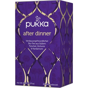 Pukka after dinner tea organic (20 bags)