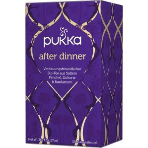 Pukka after dinner thé biologique (20 sachets)