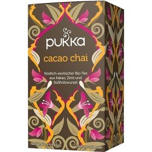 Pukka cocoa chai thé biologique (20 sachets)