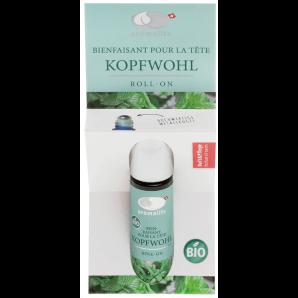 Aromalife Kopfwohl Roll on Pfefferminze (10ml)