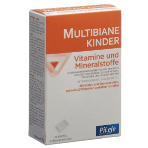 Multibiane Kinder Vitamine und Mineralstoffe (20 Beutel)