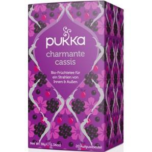 Pukka charmant thé au cassis biologique (20 sachets)