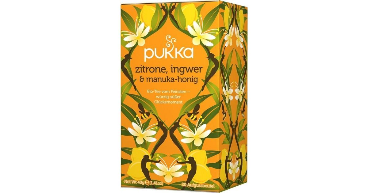 Pukka lemon, ginger & manuka honey tea organic (20 bags)