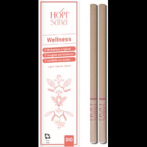 Hopisana Ohrenkerzen Wellness rosa (2 Stk)