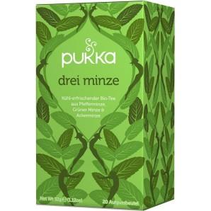 Pukka trois thés à la menthe biologique (20 sachets)