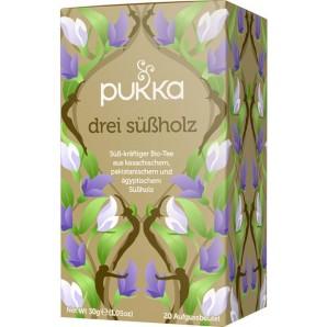 Pukka trois thés de réglisse biologique (20 sachets)