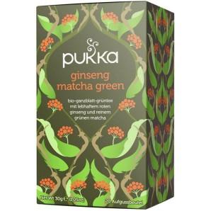 Pukka thé vert au ginseng matcha biologique (20 sachets)