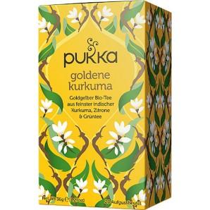 Pukka golden turmeric tea organic (20 bags)