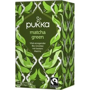 Pukka matcha green thé biologique (20 sachets)