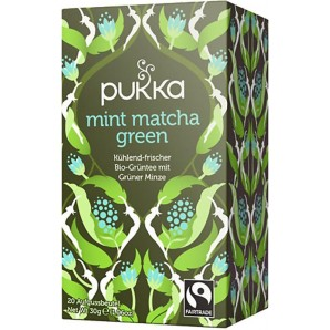 Pukka mint matcha green thé biologique (20 sachets)