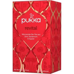 Pukka revital thé biologique (20 sachets)