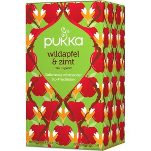 Pukka wild apple & cinnamon tea organic (20 bags)