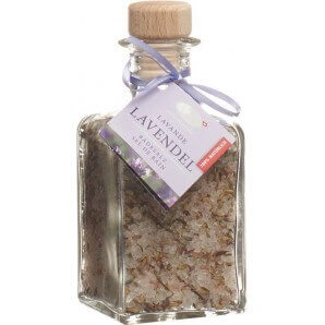 VitaSal flower bath lavender glass conical (200g)