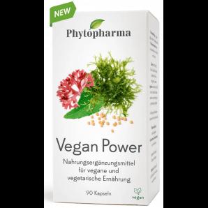 Phytopharma Vegan Power Kapseln (90 Stk)