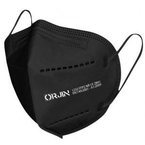 Simba ORJIN 1232 FFP2 Atemschutzmaske schwarz (10 Stk)