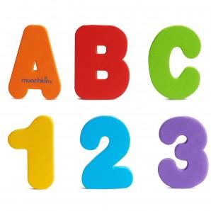 munchkin Bade Buchstaben & Zahlen (36 Stk)