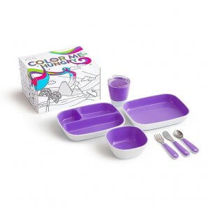 munchkin Color Me Hungry Dining Set (7-teilig)