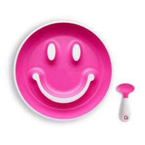 munchkin Smile'n Scoop Saugboden & Löffel 9M+ (1 Stk)
