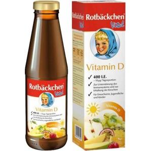 Rabenhorst Rotbäckchen Vital Vitamin D (450ml)