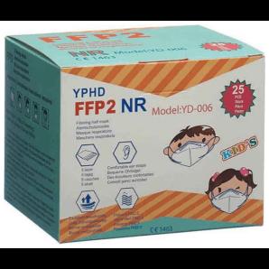 YPHD Kinderatemschutzmaske FFP2 (25 Stk)
