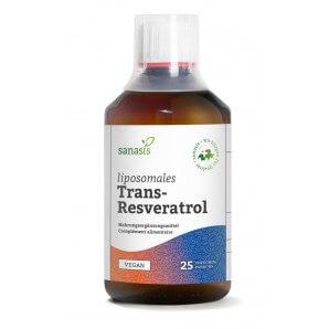 sanasis Trans-Resveratrol liposomal Flasche (250ml)