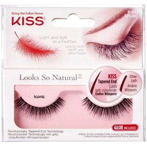Kiss Look So Natural Lashes Iconic (1 Stk)
