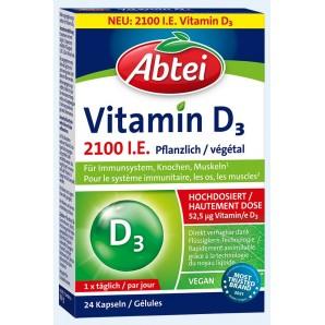 Abtei Vitamin D3 2.100 I.E. Pflanzlich (24 Stk)