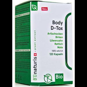 BIOnaturis Body D-Tox Kapseln (120 Stk)
