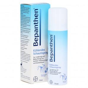 Bepanthen spray mousse rafraîchissant 5% (75ml)