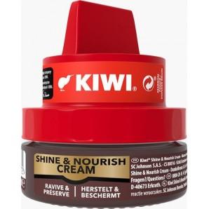 KIWI Wax Rich Shine & Nourish Cream dunkelbr (50ml)