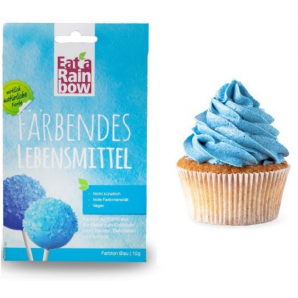 Mangez un arc-en-ciel Colorant alimentaire bleu (10g)