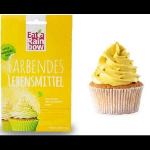 Mangez un arc-en-ciel Colorant alimentaire jaune (10g)