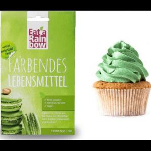 Mangia un arcobaleno colorante verde (10g)