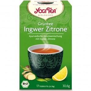 Yogi Tea - Grüntee Ingwer Zitrone (17x1.8g)