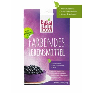 Eat A Rainbow Färbendes Lebensmittel violett (10g)