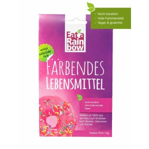 Mangia un arcobaleno colorante alimentare rosa (10g)