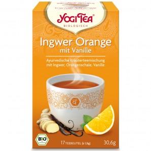 Yogi Tea - Ingwer Orange mit Vanille (17x1.8g)