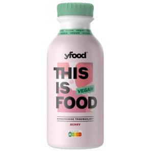 YFood Drink Meal Vegan Berry (500ml)